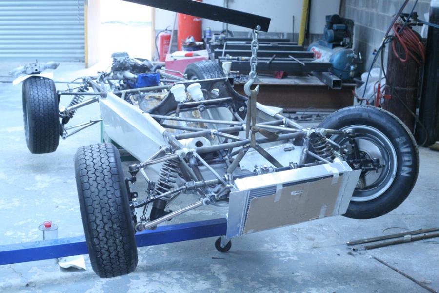 1969 formula ford Lotus 61 No55 | EterniaWorks